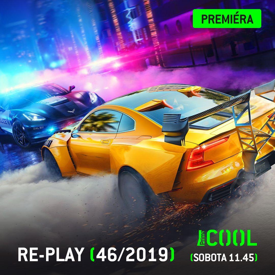Novej @replaycz bude závodit v Need for Speed Heat ;)   #PrimaCOOL #Replay #NeedForSpeedHeat @rota152 #GabrielaWrobel @ArcadeBulls #Cerberos https://t.co/40xa2fjrXa
