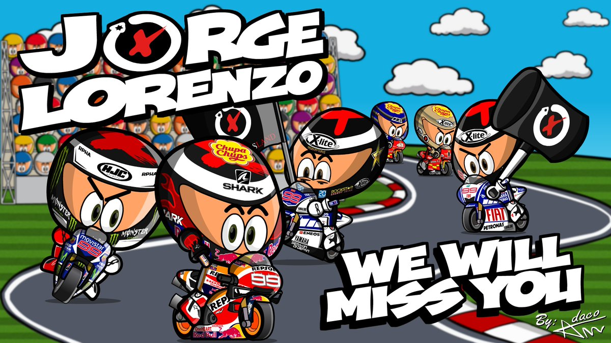 Jorge Lorenzo will retire at the end of the season. Farewell Spartan, remember that MiniBikers will be always your Lorenzos Land.