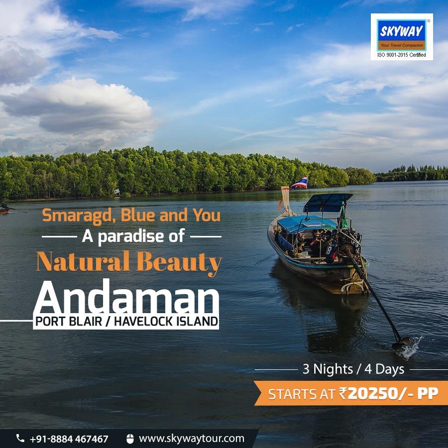 Discover a Paradise of Natural Beauty- Andaman!Visit: https://www.skywaytour.com/...#discover #andaman #nature #beauty #paradise #destination #explore #culture #journey #tour #india #skyway #favorite #destination_wow #wanderlust #traveldestination #adventure #travel