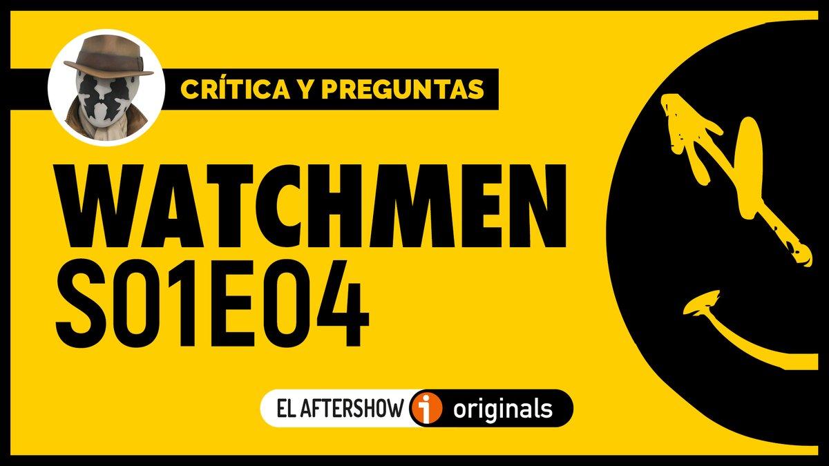 ¿No os da la vida para tanta serie y tanto #podcast? Pues al loro que llega el análisis del cuarto episodio de watchmenHBO... en un rato... Mientras tantos, ya sabéis que tenemos video en http://youtube.com/redmarciana