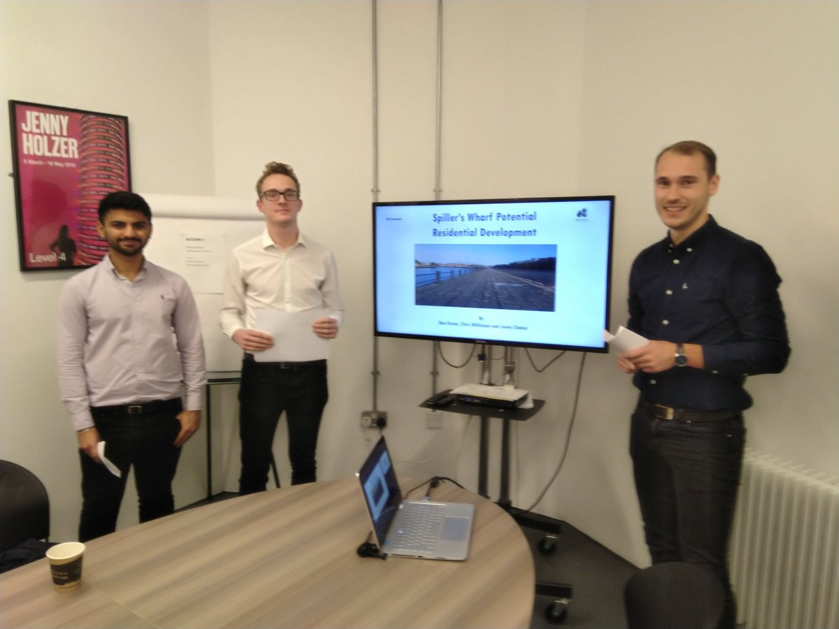 Final @NorthumbriaProp MSc #RealEstate group BCI consultants for NE6 residential development of Spillers Quay #Newcastle proposing high quality housing @NSurveyingSoc @muldoon_smith @mcguinness_d @baltic39