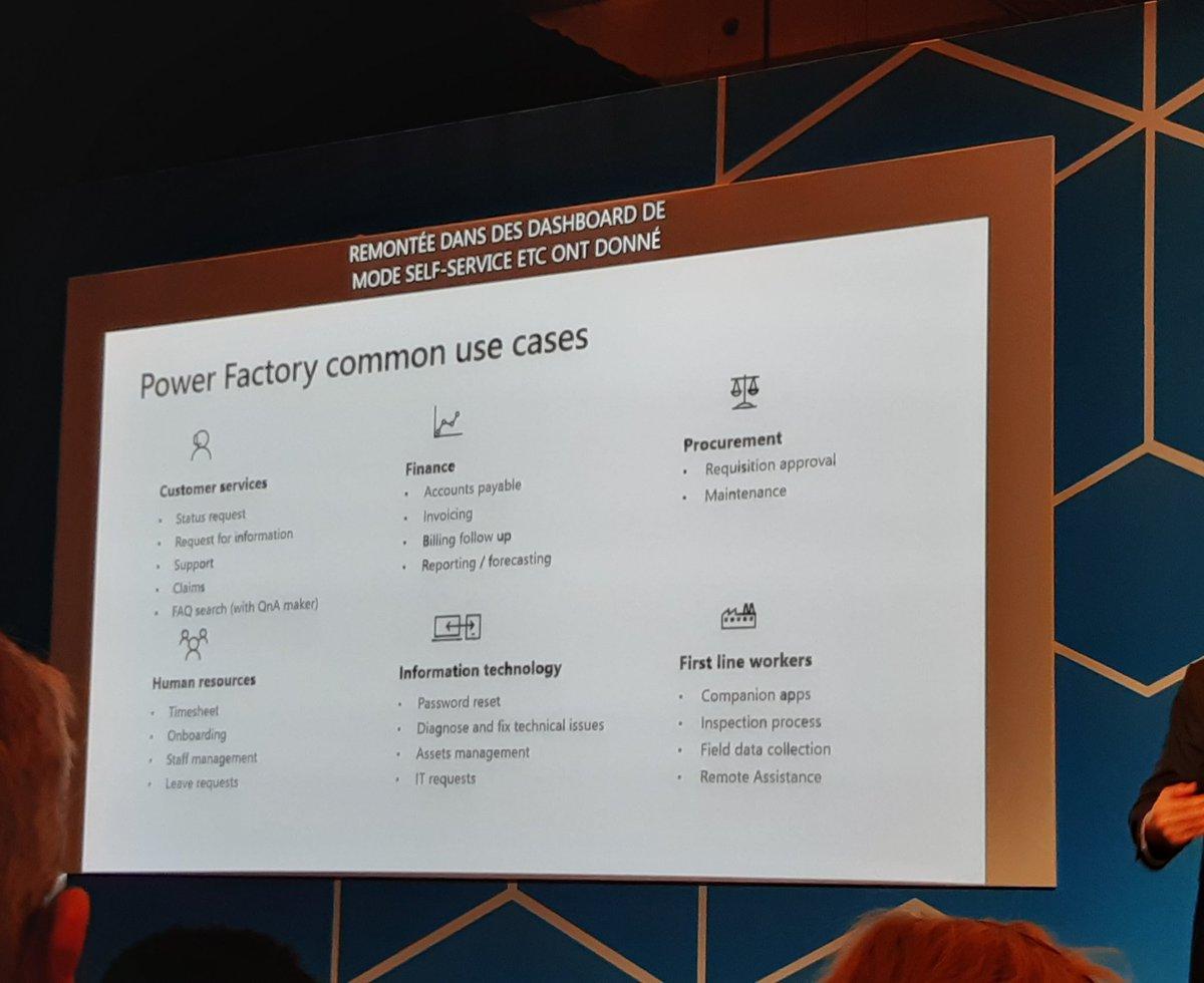 Quelques use cases expliqués par @rocsebastien. #MSEnvisionTheTour #groupeceri   @Microsoftfrance #industrie #Industry40 @SopraSteria_fr