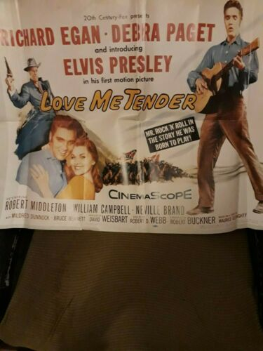 Poster Large Approx 32 X 22 Cms ' Love Me Tender' Cinema Repro    http:// rover.ebay.com/rover/1/711-53 200-19255-0/1?ff3=4&pub=5575170770&toolid=10001&campid=5338579591&customid=&mpre=https%3A%2F%2Fwww.ebay.com%2Fitm%2FElvis-Presley-POSTER-LARGE-APPROX-32-X-22-CMS-LOVE-ME-TENDER-CINEMA-REPRO-%2F163934882706  …   #Elvis<br>http://pic.twitter.com/pPr5iFDFoC