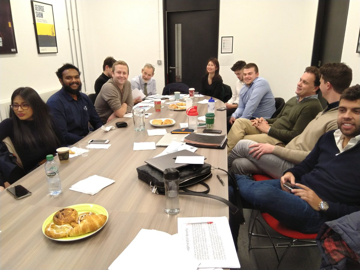 @NorthumbriaProp MSc #RealEstate project scenario for development of Spillers Quay - 4 varied proposals & presentations rewarded with pastries & coffee @baltic39 @muldoon_smith @mcguinness_d @NSurveyingSoc