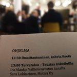 Image for the Tweet beginning: Dumppaa diabetes! -päätösjuhla on alkanut.