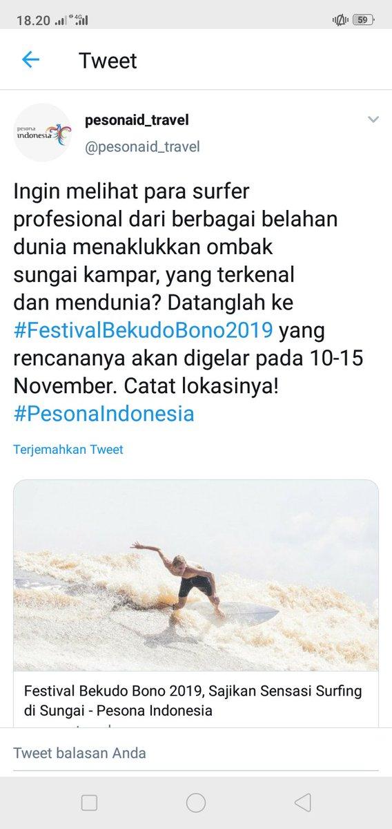 @pesonaid_travel enaknya jika kita bisa surfer ya, #PesonaIndonesia #WonderfulIndonesia #JumatKuis