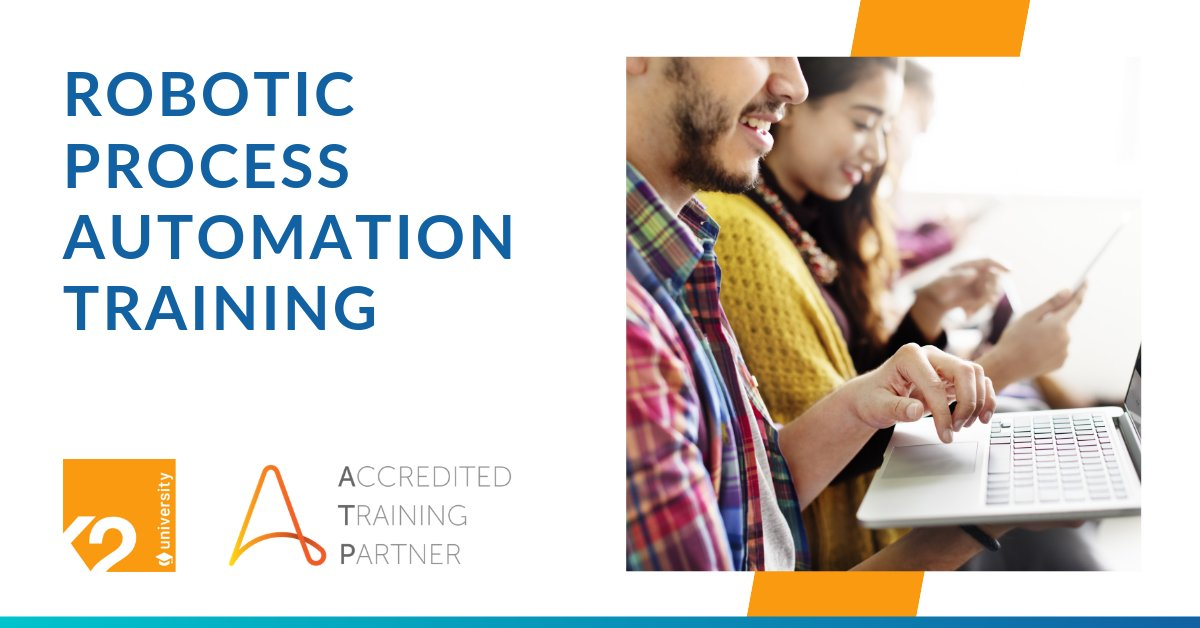 Be at the forefront of #Industry40 and upskill yourself in one of the most in-demand fields, #RPA! K2 University, official Automation Anywhere Training partner, runs online instructor-led RPA training courses. Register now https://buff.ly/2YrNdws
