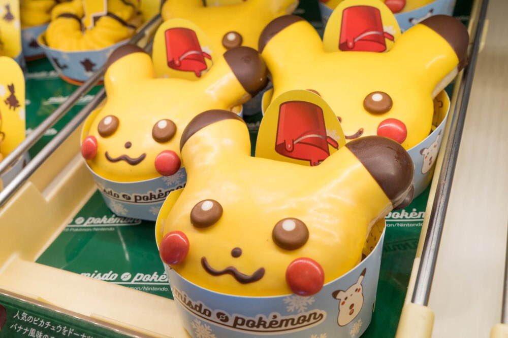 11月15日よりミスタードーナツから「ピカチュウ ドーナツ」が新発売されます✨さらに、ピカチュウをイメージしたフレンチクルーラー、「ポン・デ・モンスターボール」、タピオカドリンクも発売されます!