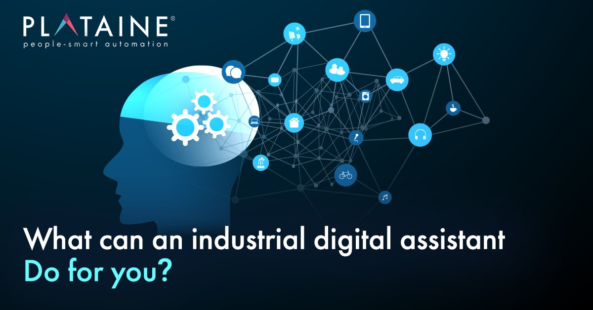 Digital Assistants are revolutionizing the manufacturing industry. Find out how a digital assistant can transform your factory >> https://okt.to/9MdCh6 #IIoT #Industry40 #digitalassistant #FactoryoftheFuture