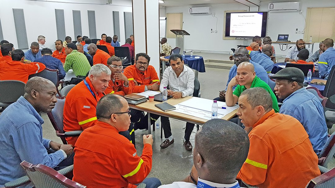 Employees from the Safety Reduction Plant at Qatalum participated in an HSE Workshop to improve HSEQ observation, ensure performing Electrical Safety in Pot Lines and secure Mobile Equipment & pedestrian Safety. #Safetyatwork #HSE #Qatar #Qatalum #QNV2030