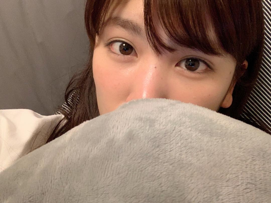 寒くて。。。 ー アメブロを更新しました#久松郁実