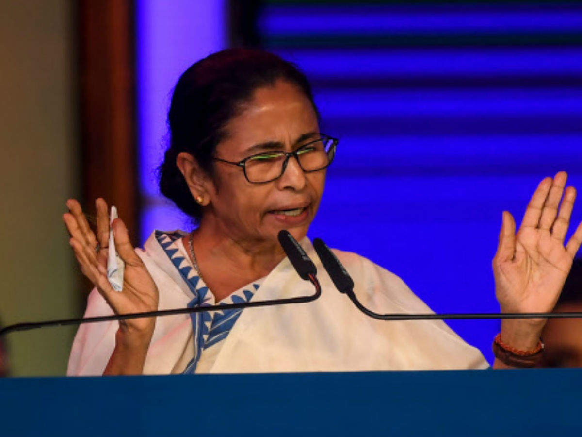 Some people in constitutional posts acting like BJP mouthpieces: @MamataOfficial READ: http://toi.in/hy5SyY/a24gk