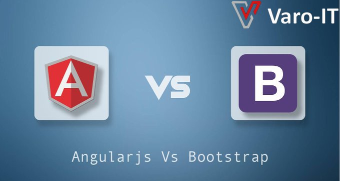 Did you know:  Angularjs is developed by Google & #bootstrap is developed by core team of Twitter. You might be aware that AngularJS is JavaScript framework & Bootstrap is a CSS framework.   http://www. varoit.com /   <br>http://pic.twitter.com/LF4SOg2jqj