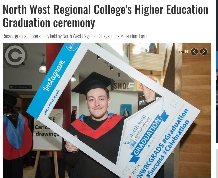 Thanks for this slideshow of our graduation ceremony @derrynow #nwrcgrads derrynow.com/gallery/multim…