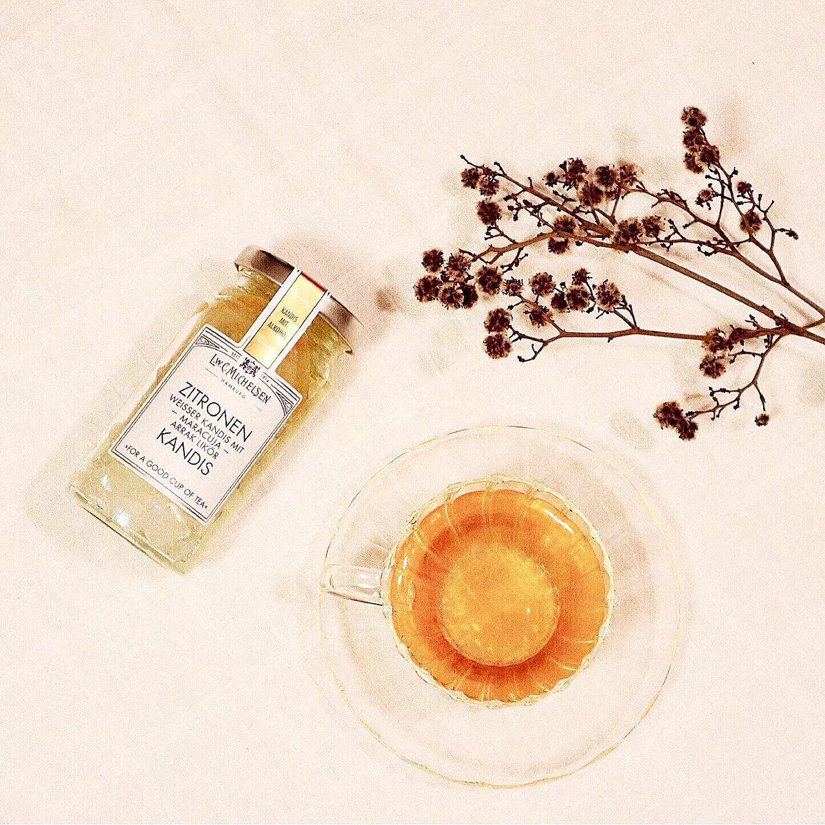 カルディの -` ̗ KANDIS  ̖ ´-宝石みたいな氷砂糖をひとすくい紅茶に入れ混ぜると贅沢な味わいになる..