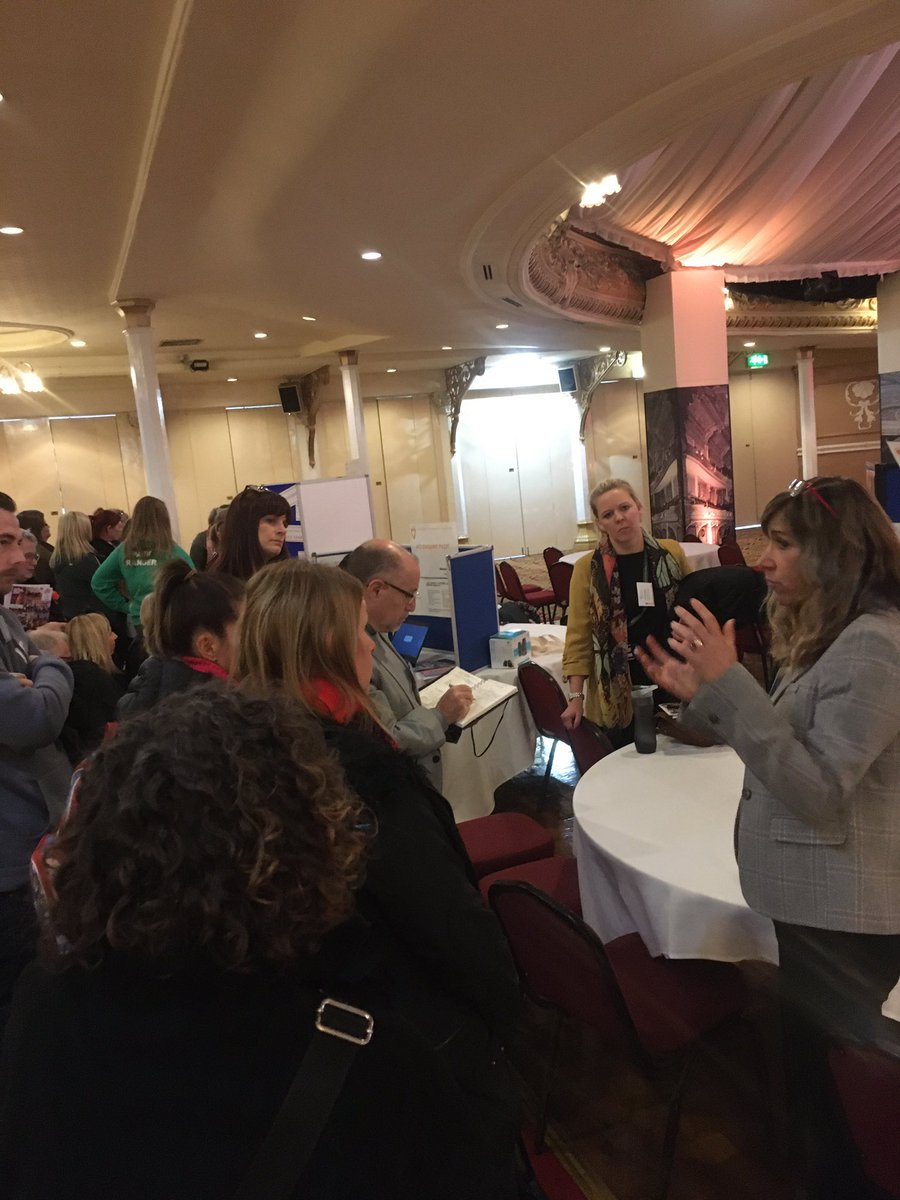 Our Enhanced Health Visiting Service is taking centre stage in the workshop led by @DeeMcGregor2 & @sazka14 - participants learning about its impact so far, ACES and evaluation with emphasis on the Quality Assurance Framework. #TransformingBlackpool<br>http://pic.twitter.com/cQhXPvW7yd