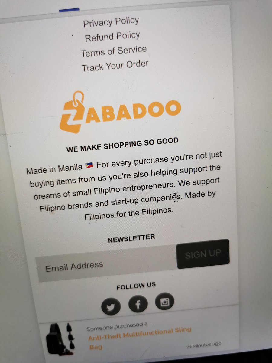 New slogan for Zabadoo. A marketplace for the Filipino entrepreneurs. <br>http://pic.twitter.com/n2I12fsSOv
