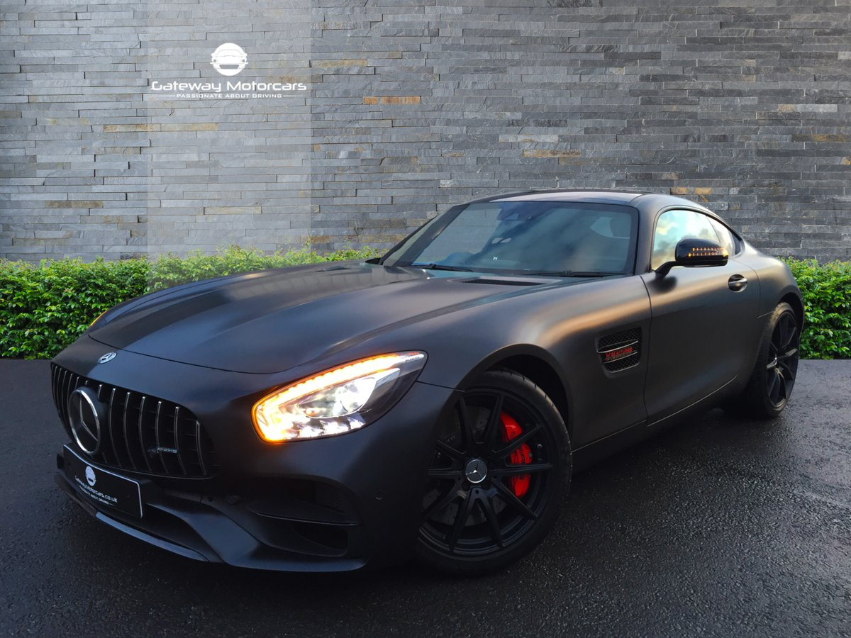 Vip Gateway On Twitter Now In Stock And Available We Have An Unbelievable Specification Mercedes Benz Amg Gts Premium Finished In A Custom Matte Wrap Black Along With A Stunning Interior Amggts