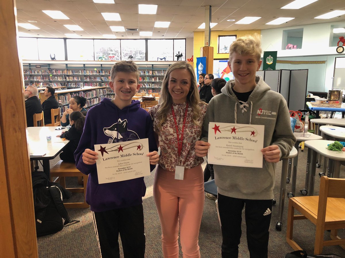 We are so proud of our student of the month recipients! @LMSNation
