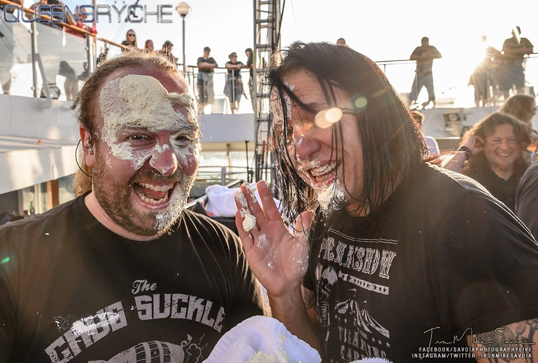 Birthday shenanigans with our tech extraordinaire, Bender, and @drumCaseyGrillo on @TheMEGACruise #queensryche #megacruise #CaseyGrillo #birthdayboy #funtimes<br>http://pic.twitter.com/1cH0bRRnWq