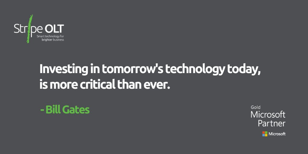 If you're going to take #business advice from anyone, @BillGates is probably one to listen to... Get in touch to find out how we can implement tomorrow's technology into your business today:  http:// bit.ly/374GdHC     #ThursdayThoughts #CloudTechnology #MicrosoftGoldPartner <br>http://pic.twitter.com/kIXtd1Xzs6