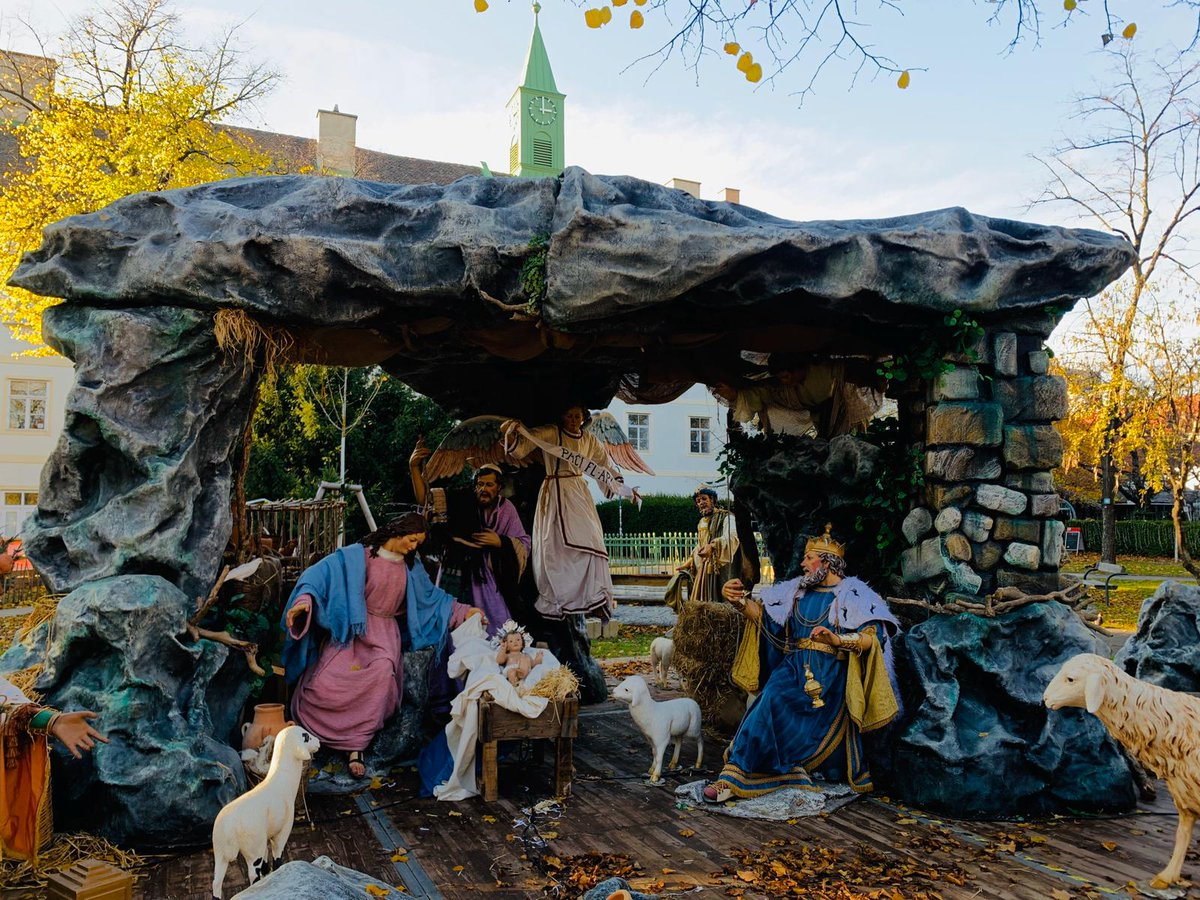 Preparations are underway for the presentation of the nativity scene with traditional Maltese elements in Vienna. Promoting our artistic talents in Malta & abroad #culturematters