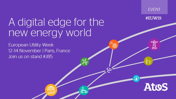 At #EUW19, Atos is sharing insights how to put the extraordinary advances in...