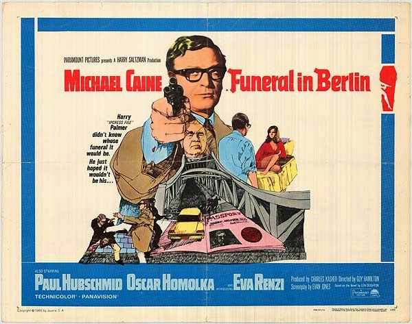 RT @Film4: At 5.15pm, Michael Caine stars in '60s spy thriller, Funeral in Berlin, the followup to The Ipcress File. https://t.co/4uS8PCoNfG
