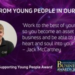 Image for the Tweet beginning: We're sponsoring the 'Supporting Young