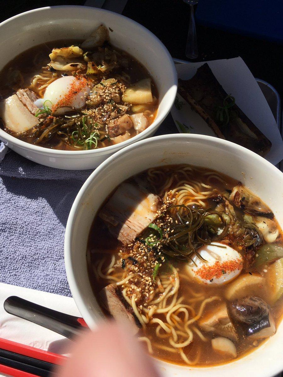 12-3 pm Saturday Oni Noodles are serving their delicious Ramen Noodles. #oninoodles https://t.co/sYuMh3no4E