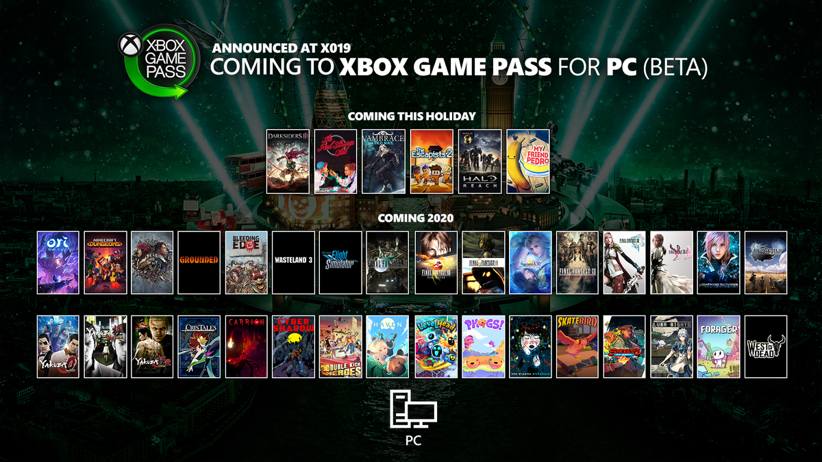 Xbox Games With Gold February 2020.Xbox Game Pass For Pc On Twitter Good Haul