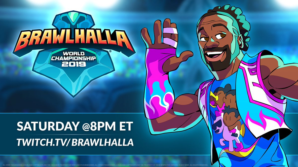 ATLANTAAA! Come watch & cheer on the @Brawlhalla NA vs EU Pro-Series Superfinal with me this Saturday, 11/16! I'll be there casting at 8pm... see you there!! #ad