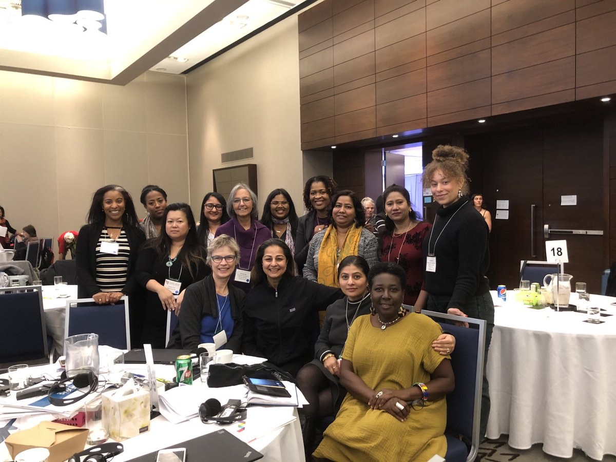 With a fantastic group to immigrant women policy ask group at #GENC I have learnt a lot from each one of these fabulous, fierce and inspiring leaders ⁦@OCASI_Policy⁩ ⁦@MOSAICBC⁩ ⁦@AccessAlliance⁩