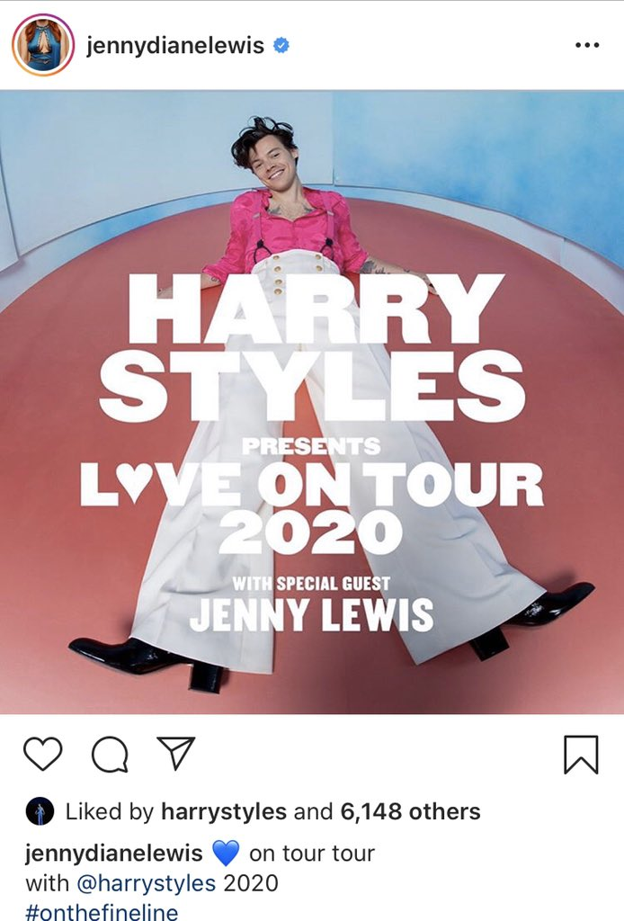 RT @hsdaily: Harry liked Jenny Lewis' post on Instagram! https://t.co/vDdgL8UcxS