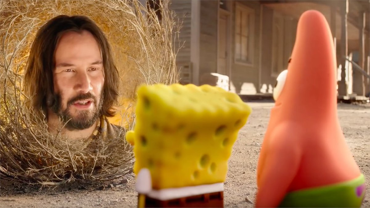 A colorful SpongeBob: Sponge on the Run trailer was just released, and it features a surprise cameo from Keanu Reeves as a sage... made out of sage. 🤷http://bit.ly/33NvIGB