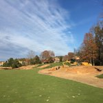 Image for the Tweet beginning: 13 fairway bunkers are looking