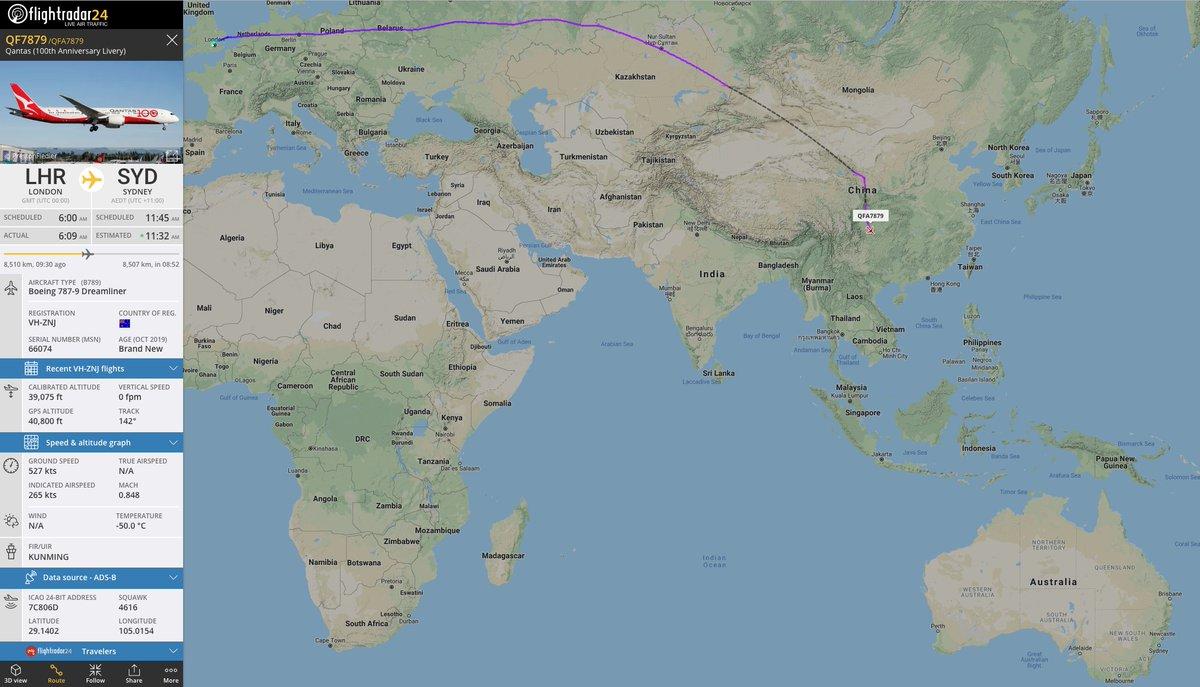 Flightradar24 on Twitter: \
