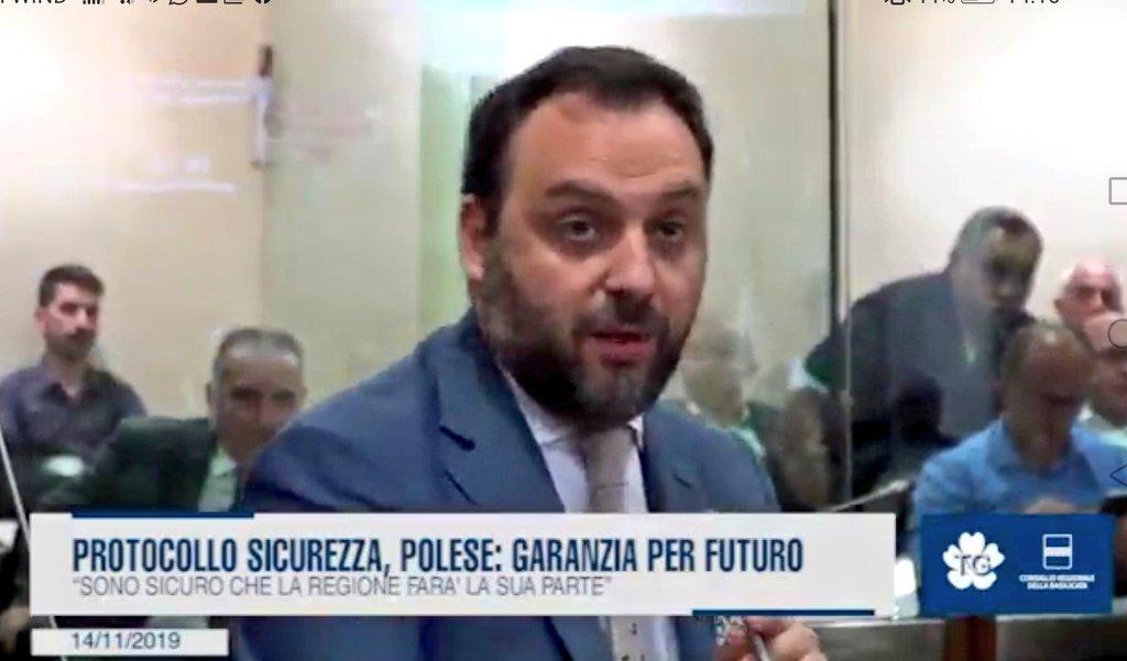"""Protocollo #sicurezza, @MarioPolese: """"Garanzia per..."""