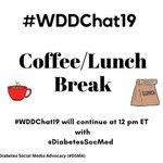 #WDDChat19