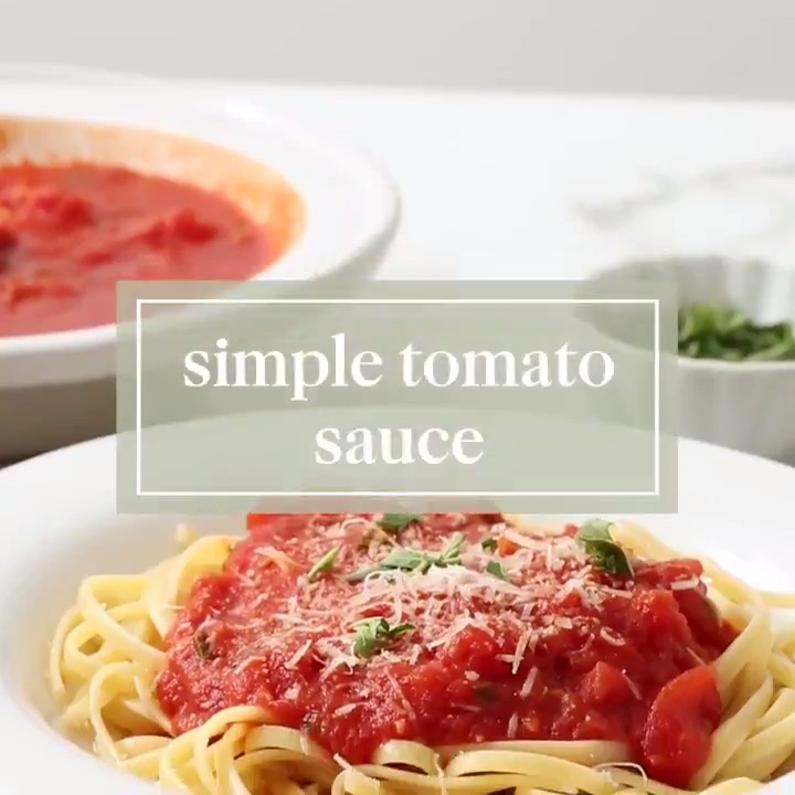 Transform a can of whole peeled tomatoes into a flavorful sauce for pizza or pasta, simply by adding garlic, red pepper flakes, and fresh oregano.