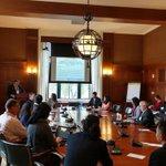 Image for the Tweet beginning: Scott Douglass chairing the @NASEMTRB