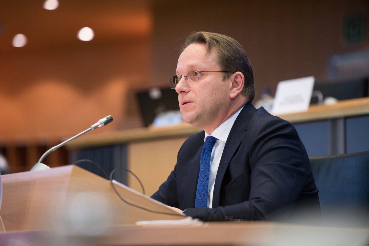 . @EP_ForeignAff has decided to ask Commissioner-designate Várhelyi to answer additional written questions following his hearing this morning. Deadline Monday 18/11 at noon. #EPhearings