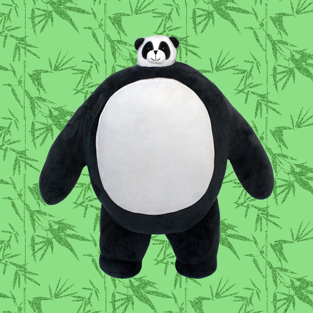 Attn: THK Family...Boz the Panda has arrived and is now ready to come home with you! No need to run, just be calm. Like Boz. Calm as a panda, as they say. Head to our website and get this party started (limit 2 per customer!) ❤️🐼 #BozThePanda #tinyheadsbighearts #plush #toys