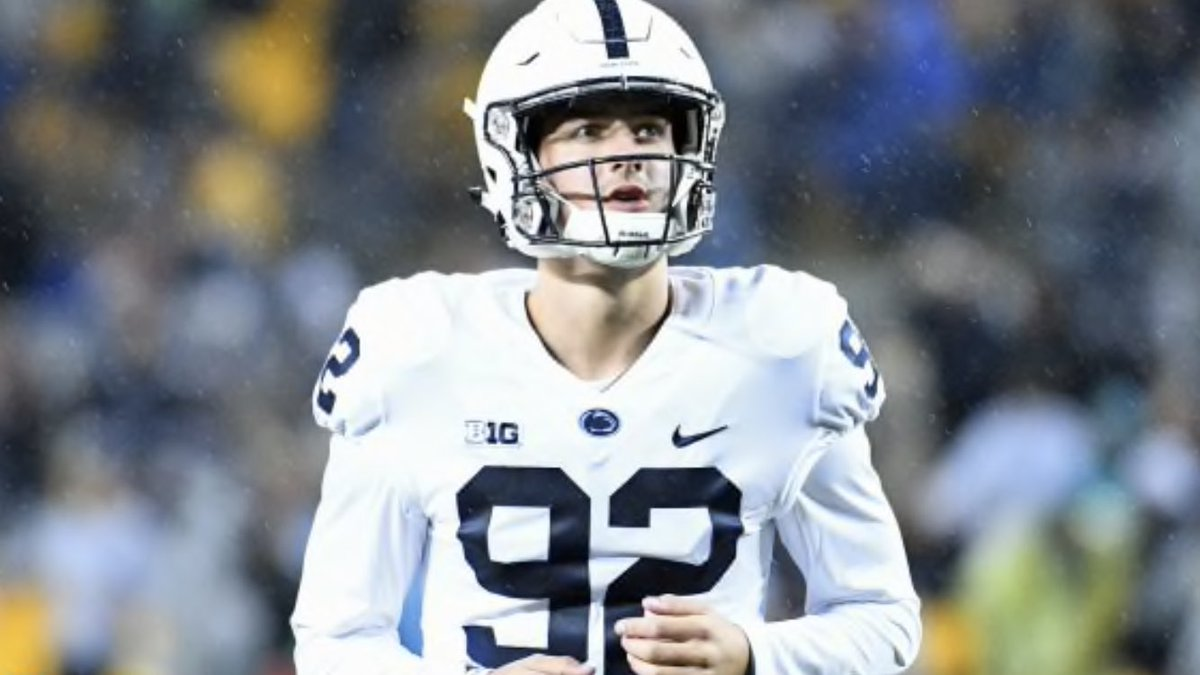 My special teams player of the game is Jake Pinegar(@jpinegar10). The sophomore kicker was a perfect on the day. He kicked two field goals(33 & 21 yards) & added 2 extra points   #WeAre #SoupyAwards🏆  #PSUvsMINN