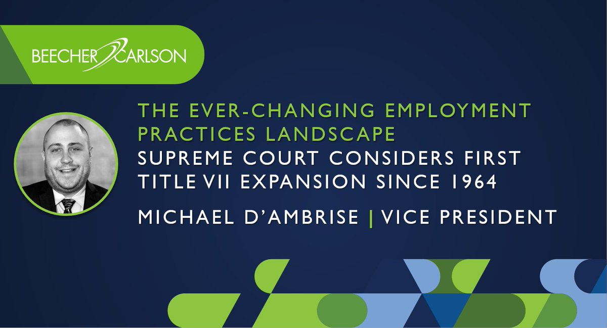 The US Supreme Court recently held oral arguments over what could be a major expansion to #TitleVII of the Civil Rights Act of 1964. Learn more here.  #EmploymentPractices #EmploymentLaw