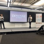 Image for the Tweet beginning: Great hosting @DoyenneGroup's inaugural 5x5x5