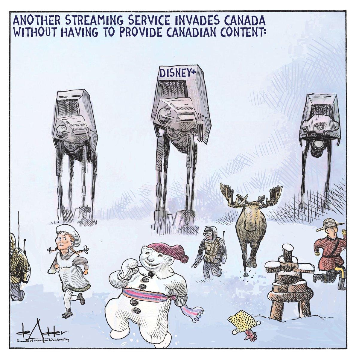 Replying to @friendscb: .@deAdder on #disneyplus in Canada.