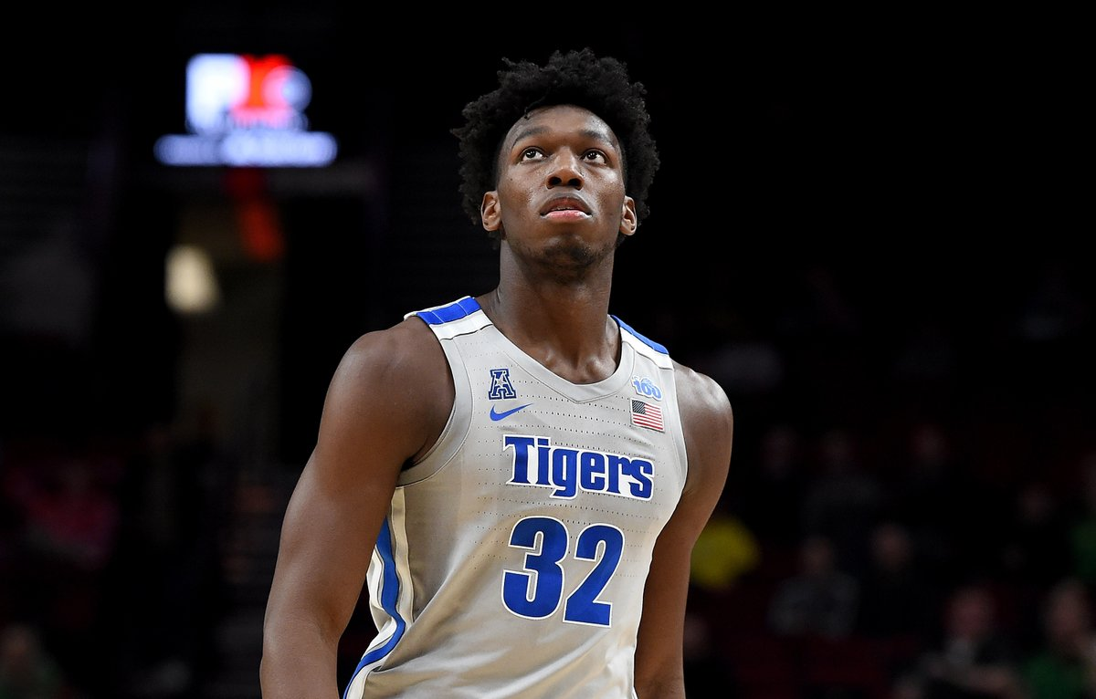 """James Wiseman has been declared ineligible for competition by Memphis, """"will immediately apply for his reinstatement"""""""