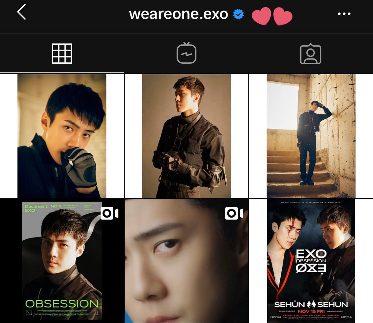 [] 191115 dont forget to like the posts on their official instagram for the side you chose!   http:// instagram.com/weareone.exo?i    …  http:// instagram.com/exo.onearewe?i    …  @weareoneEXO #EXO   #엑소 #SEHUN #세훈 #weareoneEXO  #EXODEUX  #OBSESSION  #EXOvsXEXO #ObsessedwithSEHUN #CASE94 #SEHUNvsSEHŮN<br>http://pic.twitter.com/i1KZ9iGOOu
