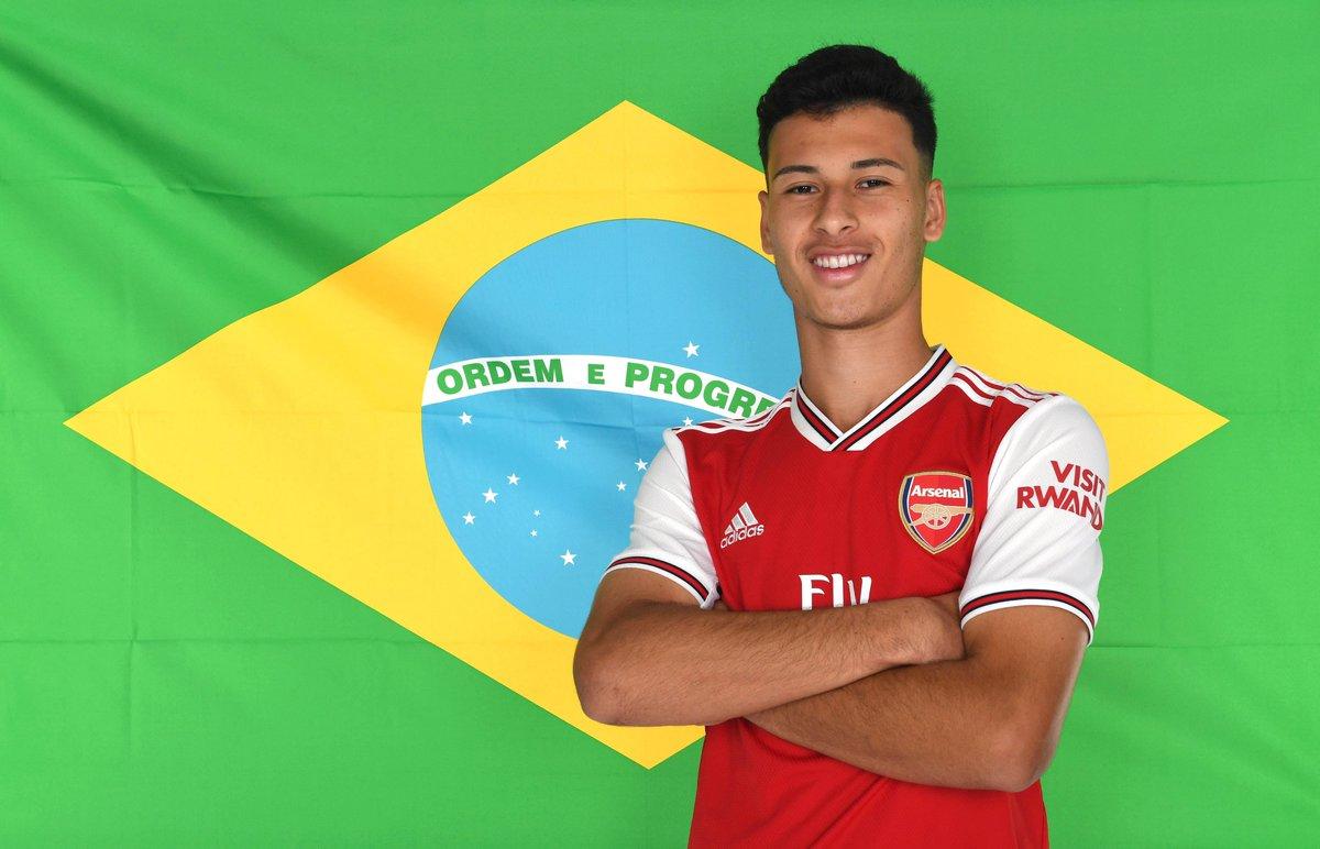 ✅ First international capThis guy starts for @CBF_Futebol Under-23s against USA tonight 🇧🇷Boa sorte, Gabi 🤙